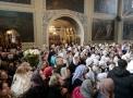 Служение Патриарха в храме Святителя Николая в Хамовниках